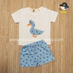 Conjunto BLUE DUCK