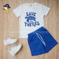 Conjunto SAVE THE TURTLES